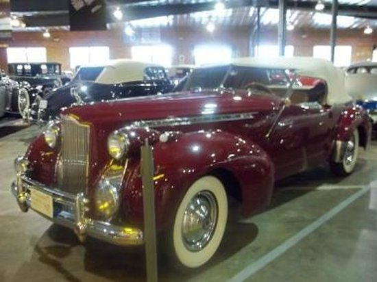 Automobile Driving Museum: 1940 Packard Darrin Convertible