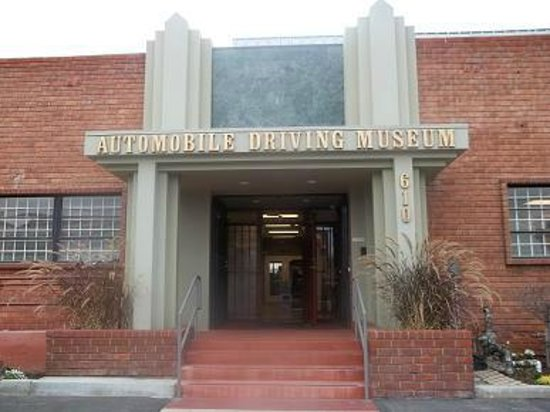 Automobile Driving Museum: The museum entrance.