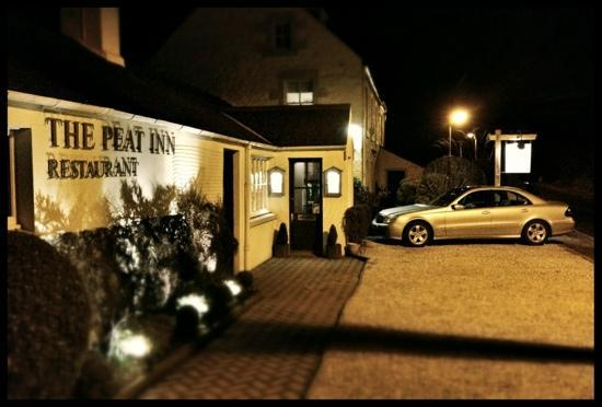 The Peat Inn: at night
