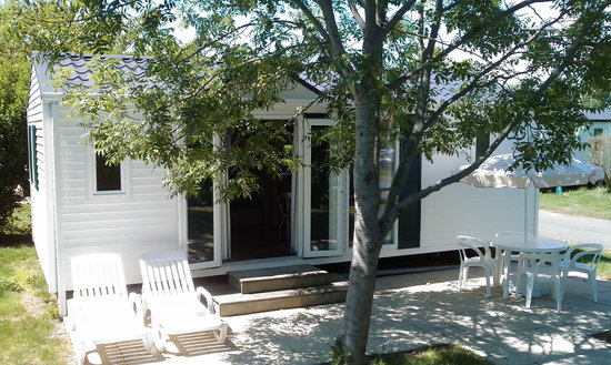 Camping Les Amiaux : Mobil-home
