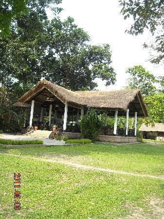 Bon Habi Resort: the breakfast nook