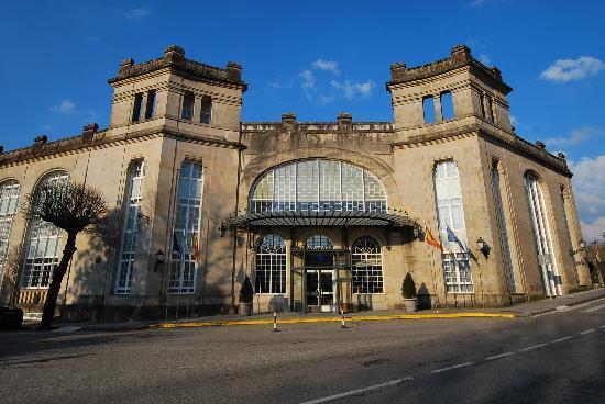 Balneario de Mondariz: main building