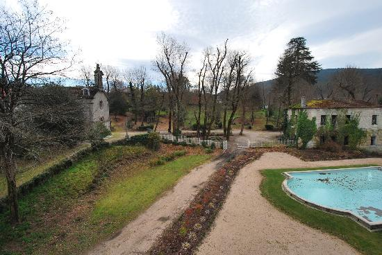 Balneario de Mondariz: view from the room