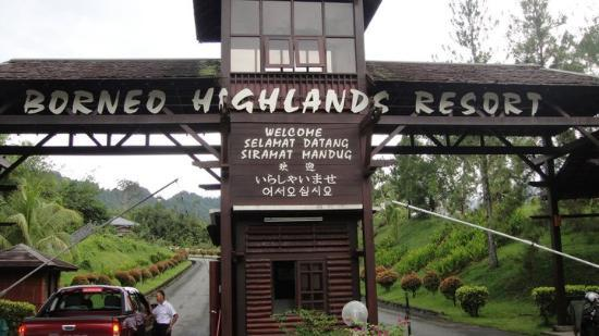 Borneo Highlands Resort: A Gate enter to the heaven
