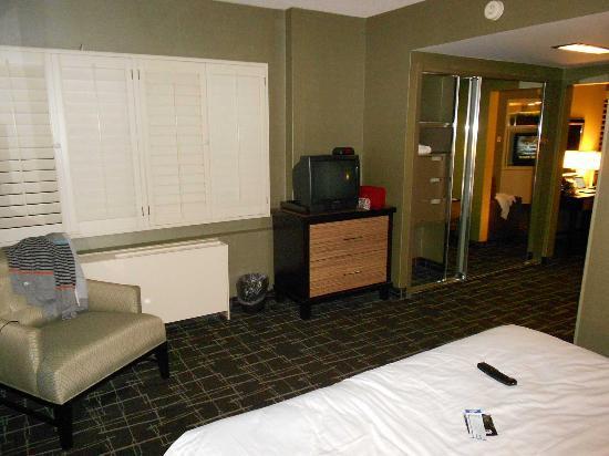 Fremont Hotel and Casino: La habitación