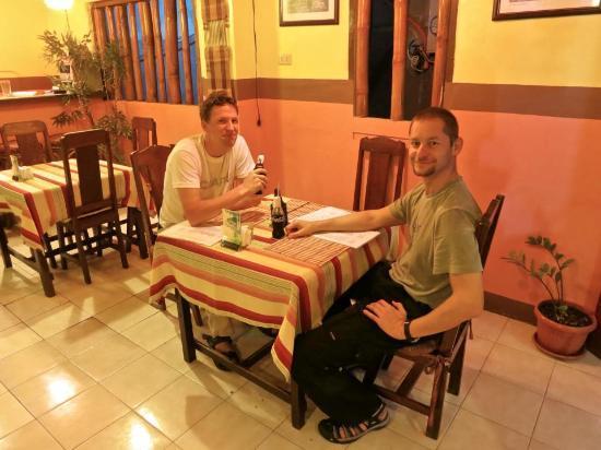Relax Thai Restaurant: Enjoying a nice meal after diving