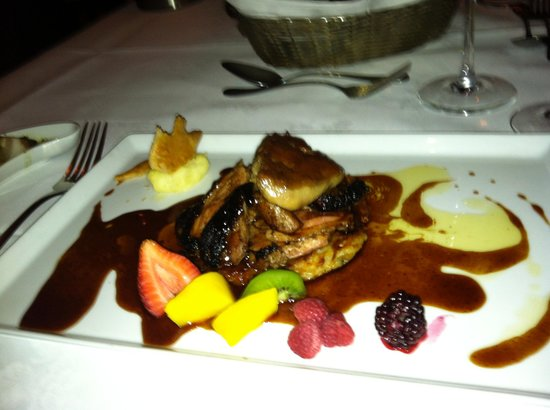 Pango Brasserie at the Fairview: Smoked sugarcane duck