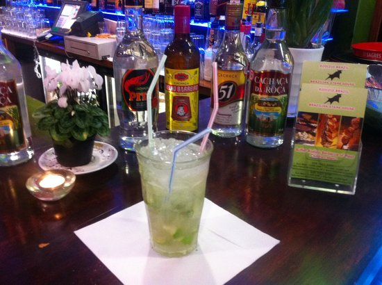 Rodizio Brazil Steak House and Bar: Caipirinha (Happy Hour 2-4-1= 5pm to 7pm