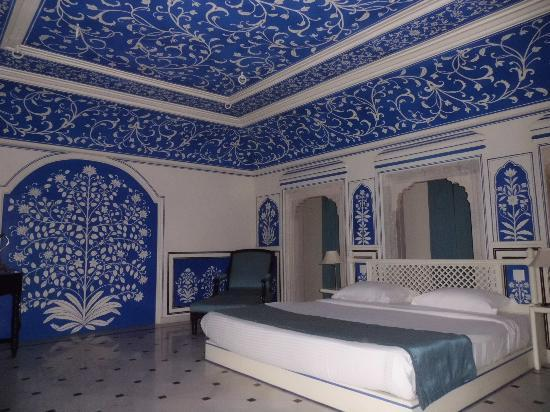 "Royal Heritage Haveli : ""Blaue Suite"""