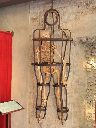Torture Tool in Museo San Gimignano.