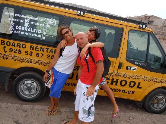Homegrown Surfschool: homegrown transfer