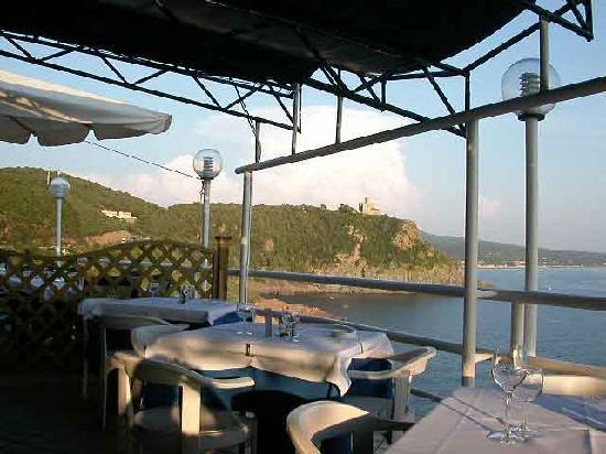 Ristorante in terrazza Romito - Picture of Il Romito, Livorno ...