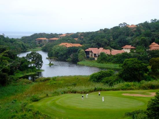 Zimbali Lodge: view from our room