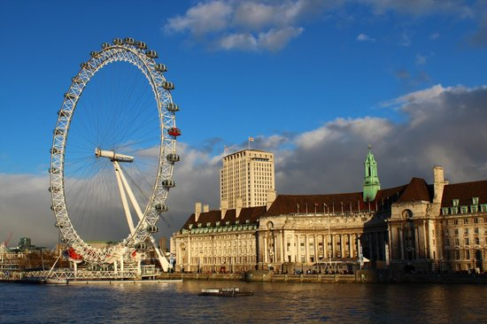 Лондон, UK: London Eye