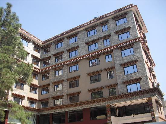 Hotel Tibet International: Court Yard