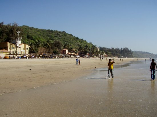Ganpatipule, India: Ganapatipule Beach (south view)