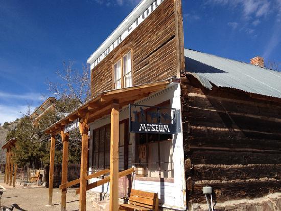 Sierra County, Nouveau-Mexique : Pioneer Store Museum, Chloride