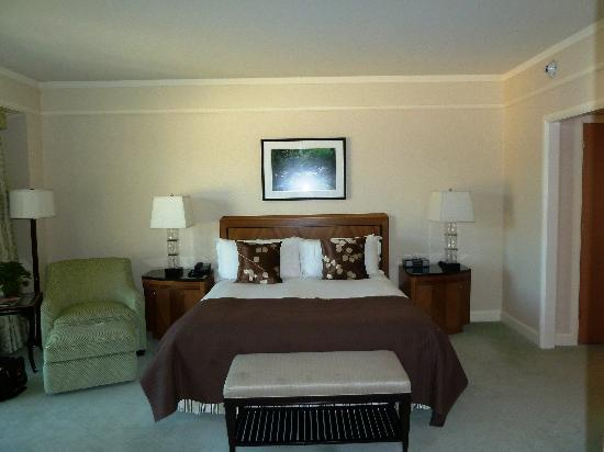 The Umstead Hotel and Spa: The bedroom in our suite