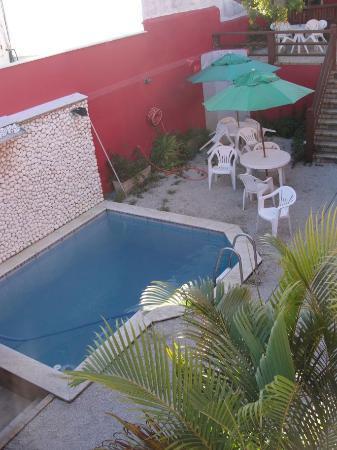 Meu Sonho: Piscina y terrazas