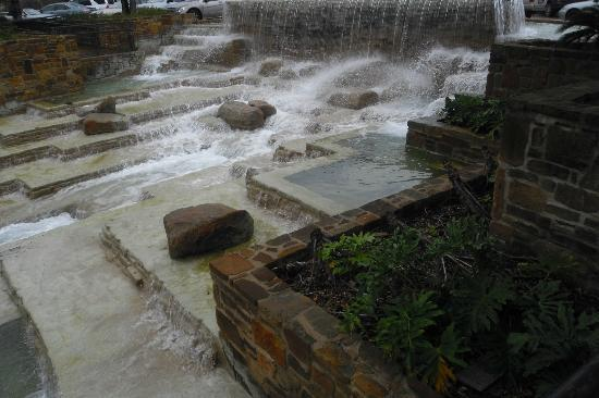 Hemisfair Park: More rough and tumble area complete with ducks