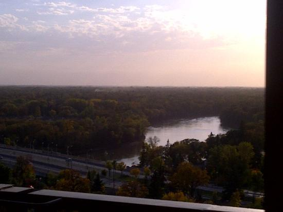 Holiday Inn Winnipeg - Airport West: The view