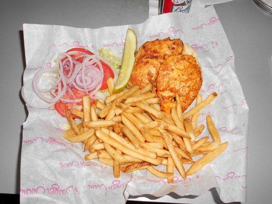 Burger Joint: Hamburguesa de pollo