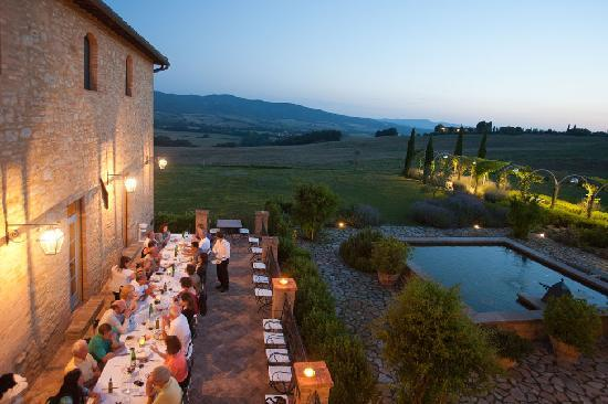Borgo Finocchieto: Meal can be catered in the Manor's Dining room or outdoors