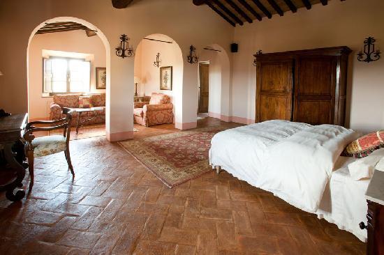 Borgo Finocchieto: The Manor house has nine suites