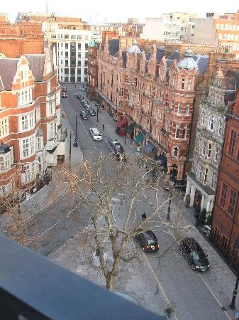 The Connaught: view from balcony