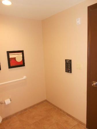 Harrah's Resort Atlantic City: Panel para regular la calefacción en el baño