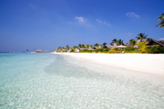 Jumeirah Vittaveli: Strand Sunset-seitig zu Mittag