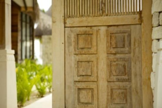 Jumeirah Vittaveli: Eingang Beachvilla