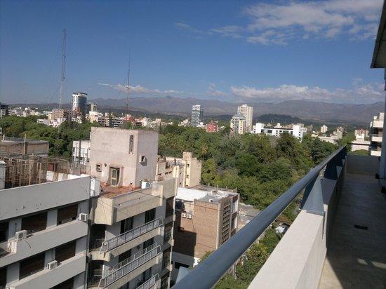 Restaurante El Mirador - Hotel Mendoza: tvalcon