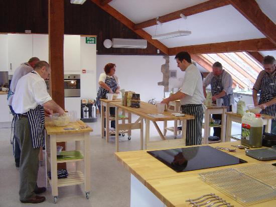 Hartingtons of Bakewell: Artisan Bread Making Course - Italian style - Bakewell - February 2012
