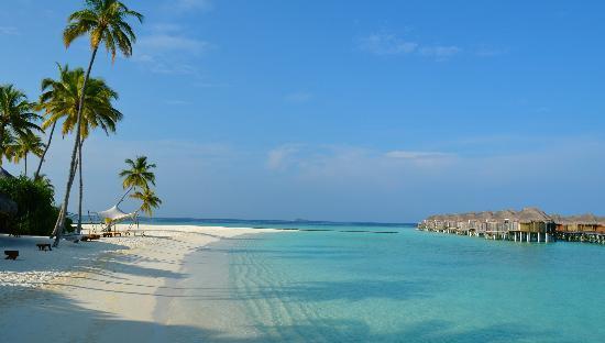 Constance Halaveli: Main beach