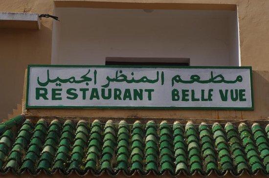 Restaurant Belle Vue: la facciata