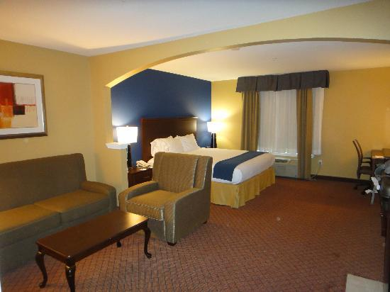 Holiday Inn Express Houston-Downtown Convention Center: Spacious junior suite