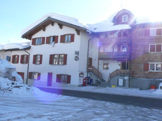 Pez Regina Hotel: Pèz Regina in Lumbrein, Val Lumnezia