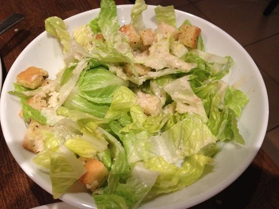 Prezzo - Aylesbury: a caesar salad without the Caesar.