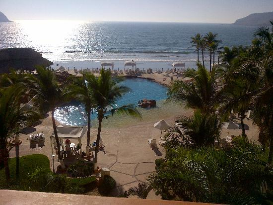 Costa de Oro Beach Hotel: view from our room