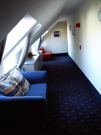 Rega Hotel Stuttgart: Hotelflur