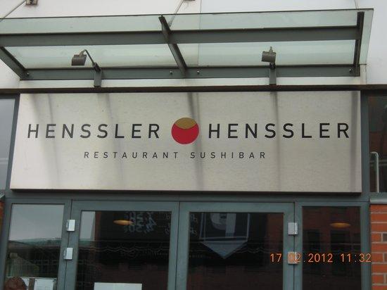Henssler Henssler : Eingang 2