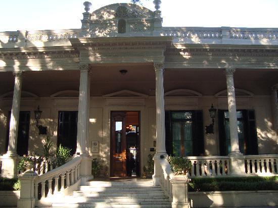 Hotel del Casco: ingreso