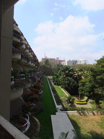 The Oberoi, Bengaluru: View across the balconies