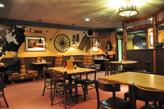 Surprising Inside Montana Mikes Has The Feel Of A Cabin Or Hunting Lodge Largest Home Design Picture Inspirations Pitcheantrous