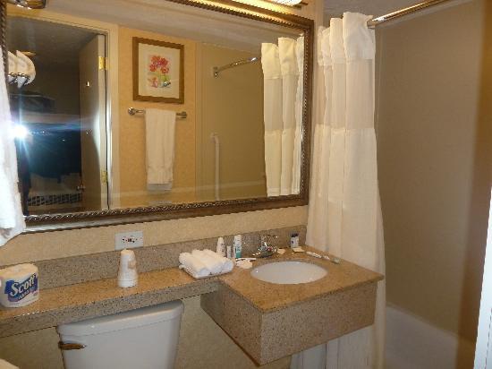 Hotel Boston: salle de bain
