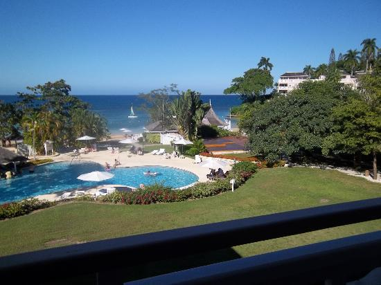 Couples Sans Souci: from our room