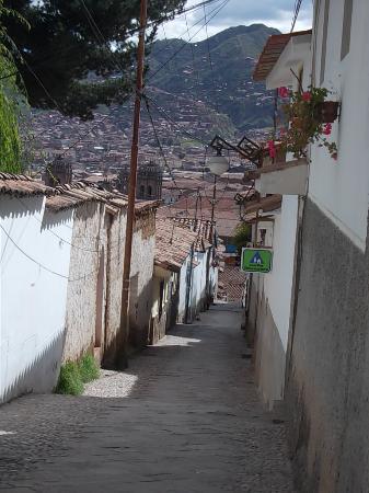 Sunset Hostel Cusco - Backpackers: Calle Tandapata, Barrio San Blas