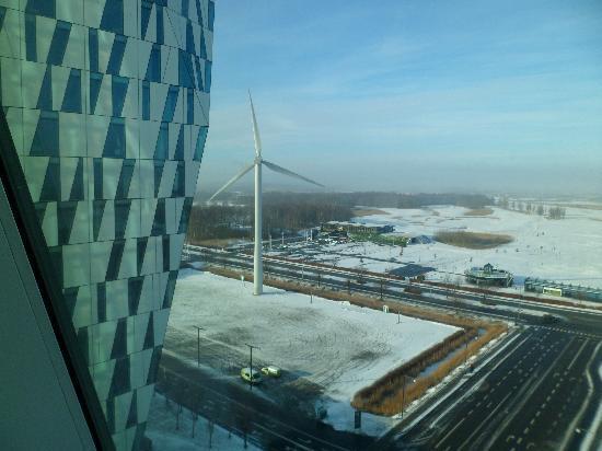 AC Hotel Bella Sky Copenhagen: View from 12th floor room.