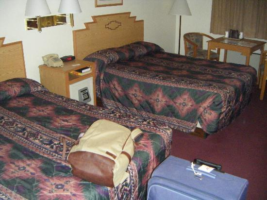 Super 8 Santa Fe: Twin room